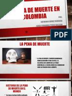 La Pena de Muerte en Colombia