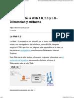 Evolución de la Web 1.0, 2.0 y 3.0 - Diferencias y atributos.pdf