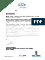 Primer Debate de La Política Pública de Cultura Ciudadana en El Concejo de Medellín