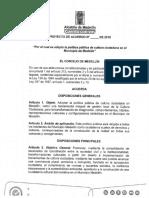 Proyecto de Acuerdo_Política Pública Cultura Ciudadana