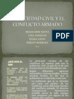 La Sociedad Civil y El Conflicto Armado