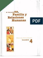 Persona, Familia y Relaciones Humanas