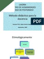 Tema 3 Método didáctico para la docencia.ppt