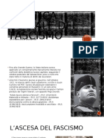 Politica Sociale Del Fascismo