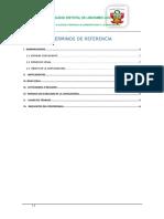Tdr 010 Elaboración de Expedient EQUIPO MECANICO