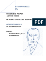 Catedra Antenor Orrego, actividad 1