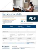online degree completion flyer