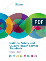 National Safety and Quality Health Service Standards Second Edition