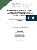Mejoramiento Del Proceso de Atencion y Asistencia a Contribuyentes en Servicio de Impuestos Internos