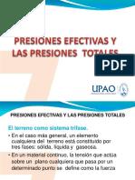 12. Presiones Totales y Efectivas