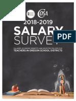 2018-19 Oregon School Boards Association Salary Survey Book