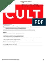 A educação pela revolução - Revista Cult (MARCUSE).pdf