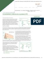 Funcionamiento y Selección de Un Protector SPD _ Sobretensiones Transitorias (DPS) _ DPS _ Protección Contra Sobretensiones _ Área de Conocimiento _ Soporte _ Inicio - Cirprotec