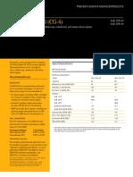 Diesel Engine (CG-4) Data Sheet _pehp7041