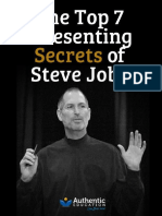 Top 7 Presentation secret of Steve Jobs