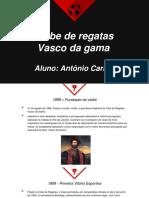 História do Vasco.