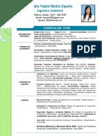 Curriculum Vitae Ingeniero Industrial Luiselia Madriz