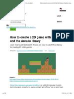 Python Arcade