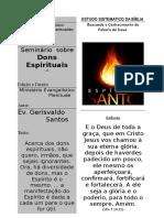 Dons Espirituais Pr. Gerisvaldo Santos-2