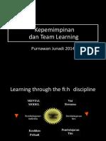 Sesi 9 - Kepemimpinan Dan Team Learning 2014