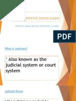Philippine Judiciary 1 Maria Ellaine Ponce 1