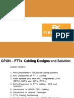 Gpon Fttx - Fiber Rex