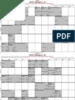 SemA Timetable