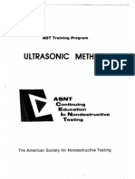 Ndt Training - Ultrasonic Methode[1]