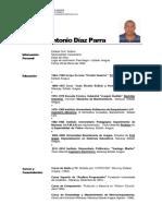 Currículo Samuel Diaz