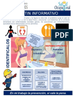 Boletín Semanal N°3 - Seccion de Salud Ocupacional - trastornos nutricionales