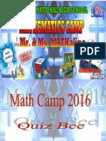 2015 Math Camp Final