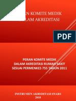 PERAN KOMITE MEDIK DALAM AKREDITASI RS.pptx