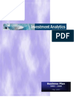 Investment Analytics BP Complete