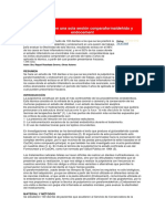 Pulpotomía en Una Sola Sesión Conparaformaldehído y Endocement
