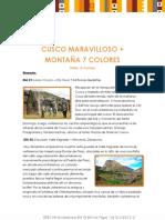 Cusco Montaña 7 Colores