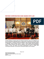 2019PressRelease Revised Corporation Code Signed Into Law 02212019
