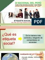 Etiqueta Social - 1 Semana