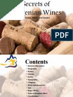 FA.08. Wines of Slovenia