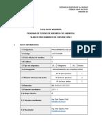 Procedimientos de Construcción II - Ga 2019-i
