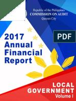 2017 AFR Local Govt Volume I
