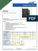 TB6600 Data Sheet en Soro 180122