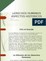 Clase 1, Derechos Humanos