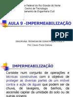 AULA 9 - Impermeabilização
