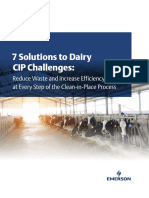 CIP Challenges in Dairy