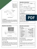 GS 6000E Usage Manual 2017
