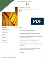 Resep Banana and Pear Cake Ramadhan Oleh Elly Yustina - Cookpad