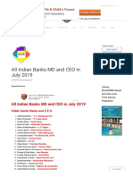 All Indian Banks MD and CEO in July 2019 .pdf
