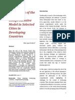 Analysis of Rational Comprehensive Model