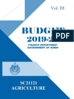 sindh gov budget 2019-2020