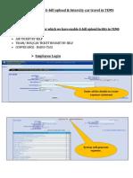 User Manual for E-bill Upload